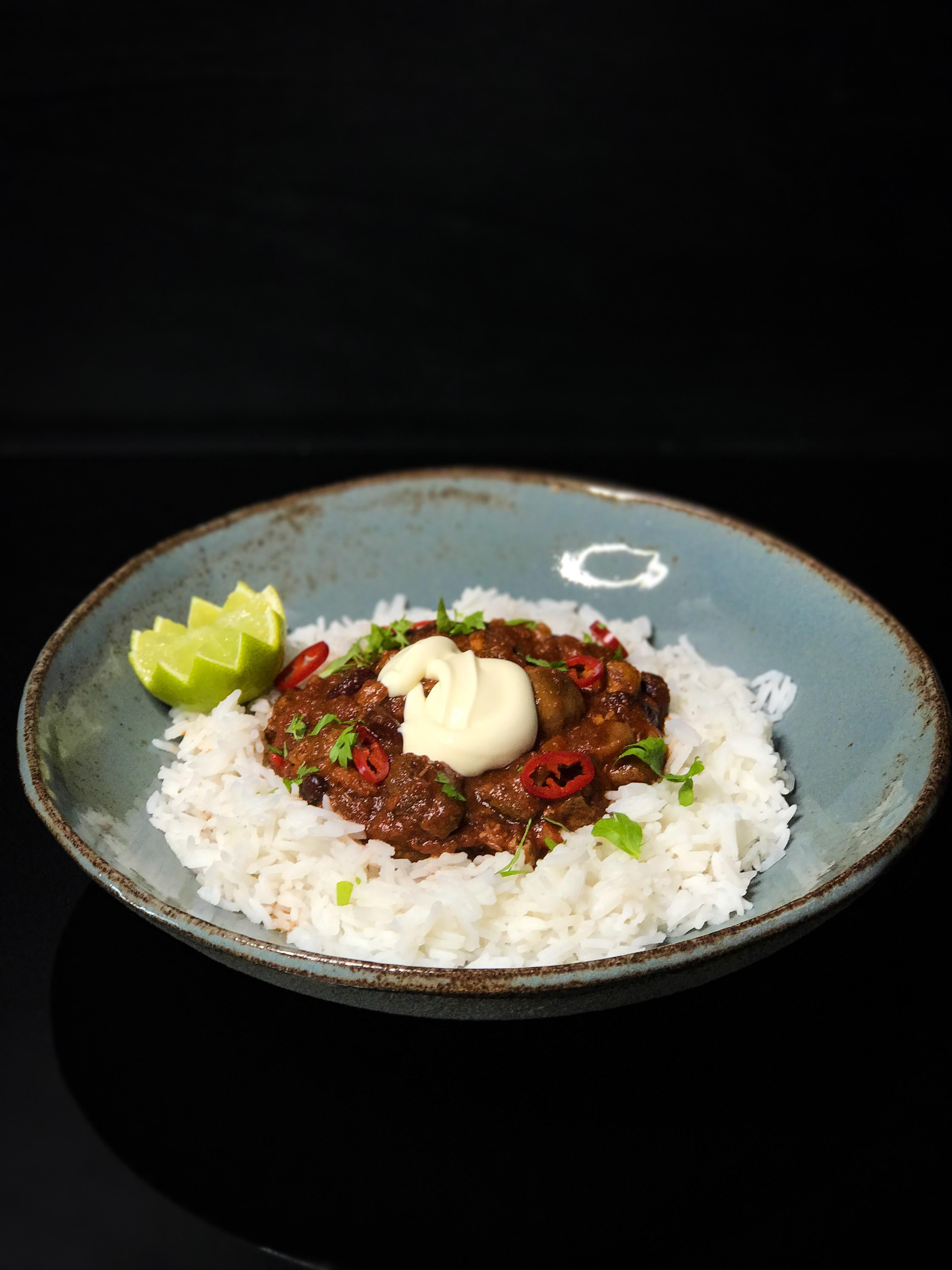 Herkullinen Chili Con Carne karjalanpaistista