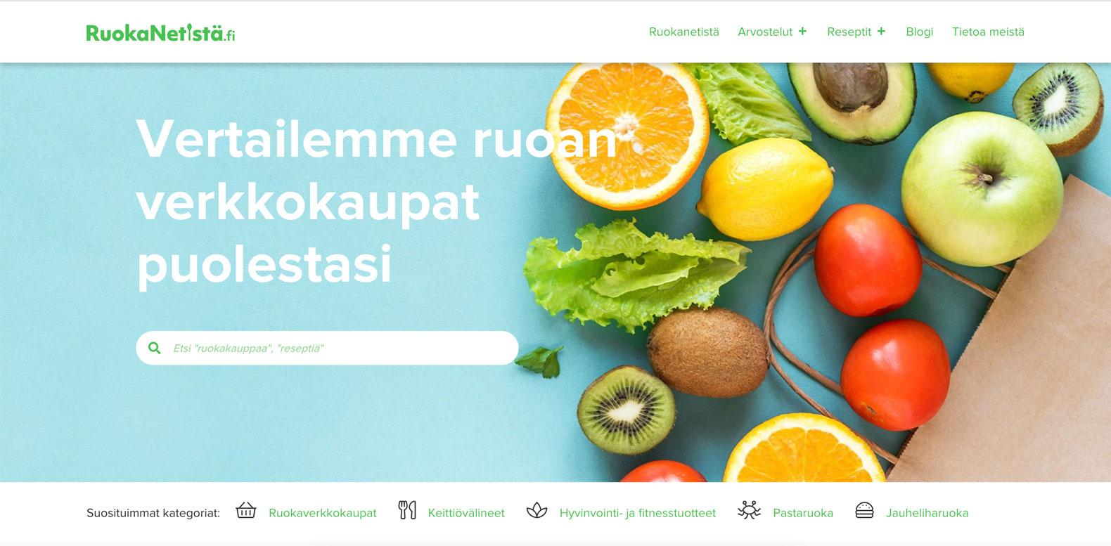 ruokaa netistä